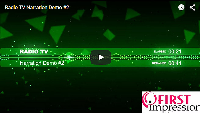 Radio TV Spot Demo #2 – Dean