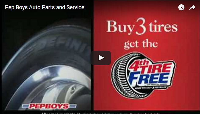 Pep Boys National Spot